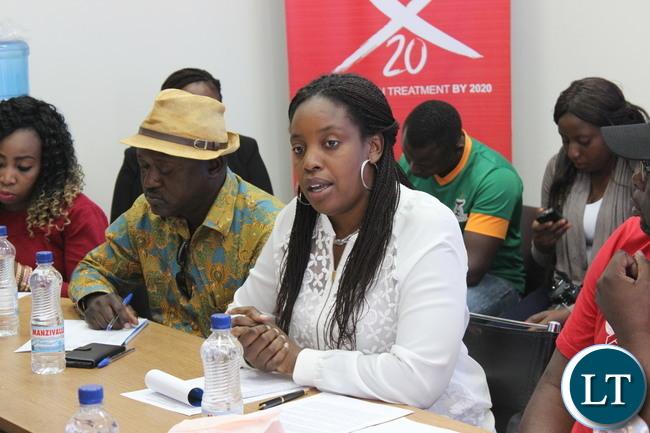Kunyima Banda of NZP+