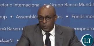 Director of the IMF's African Department Abebe Aemro Selasie