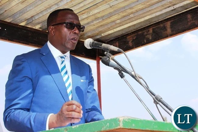 EASTERN Province Permanent Secretary, Chanda Kasolo, gives his address during the National Day of Prayer, Fasting and Reconciliation held at David Kaunda Stadium in Chipata.