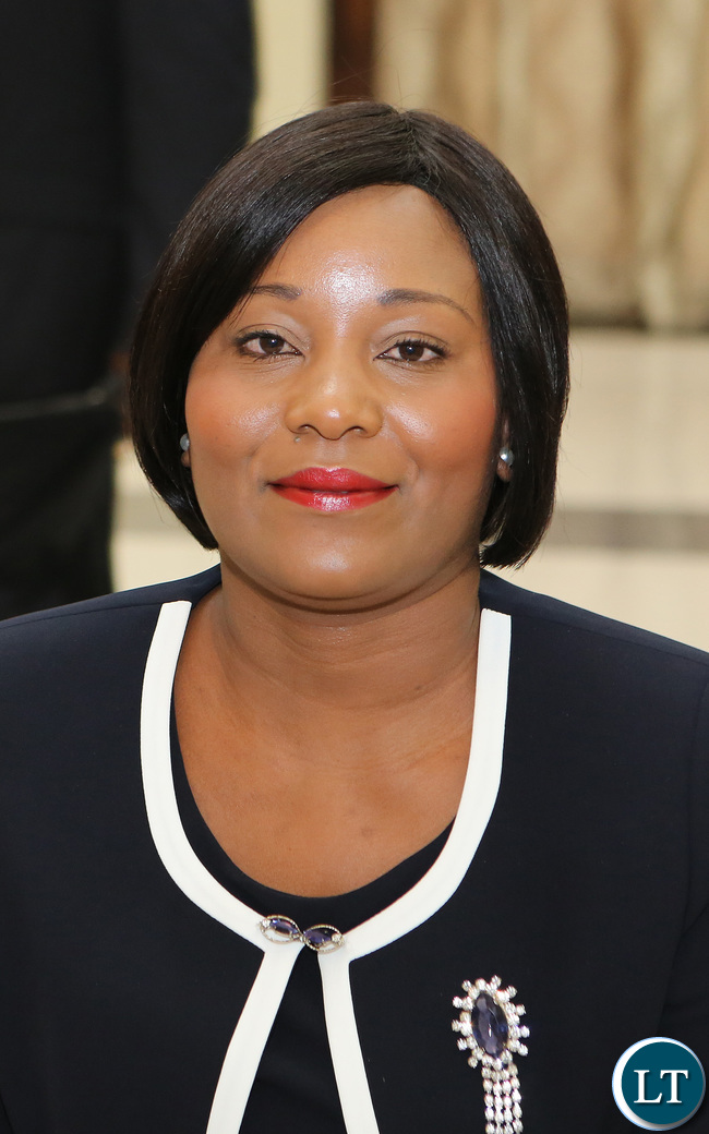Kampamba Mulenga Minister of Information and Broadcasting servises