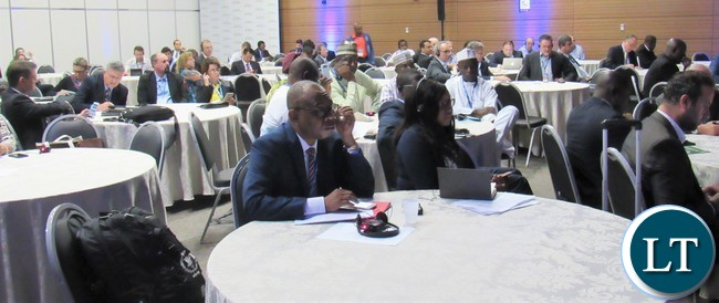 Guests and participants following proceedings during the 4th Africa Brazil Forum in Foz do Iguacu, Brazil
