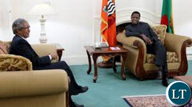 president-lungu-with-sahrawi-arab-democratic-republic-minister-of-foreign-affairs-mohamed-salem-ould-salek-at-state-house