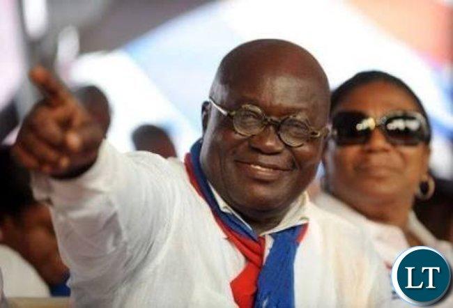 New Patriotic Party (NPP), Mr. Nana Akufo-Addo