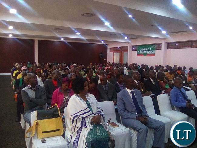 Freedom figthers who attended the launch of the association in Lusaka