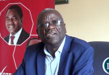 Secretary General Stephen Katuka