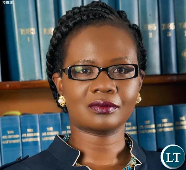 LAZ President Linda Kasonde