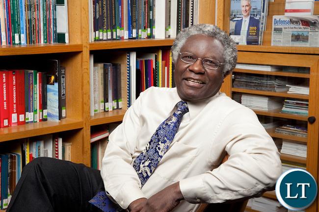 Harvard University Professor Calestous Juma