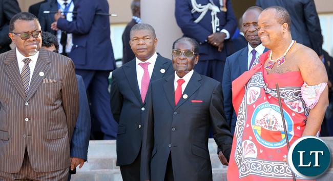 Namibia, Zimbabwe and Swaziland Leaders at SADC Summit