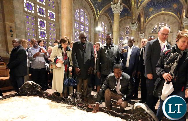 President Edgar Lungu The Church of all Nations