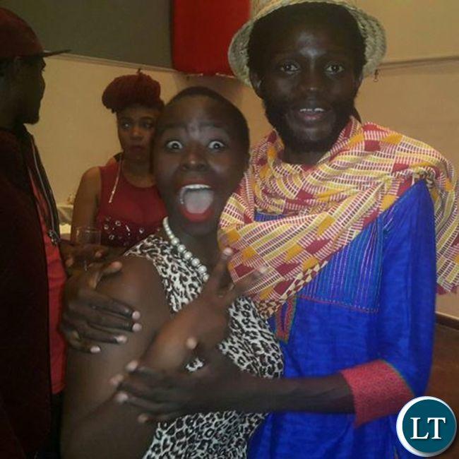 Mumba Yachi and Wezi during their dating days