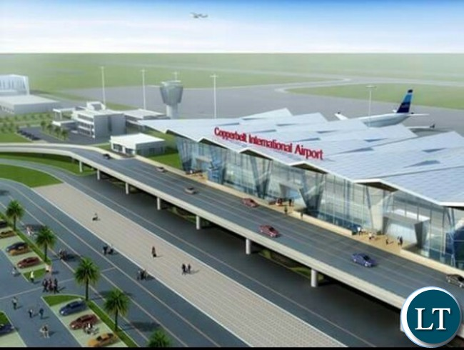 Artist impression of the Copperbelt International Airport