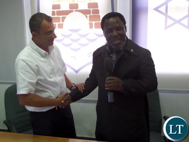 Zambia : T B  Joshua declares his intentions to leave