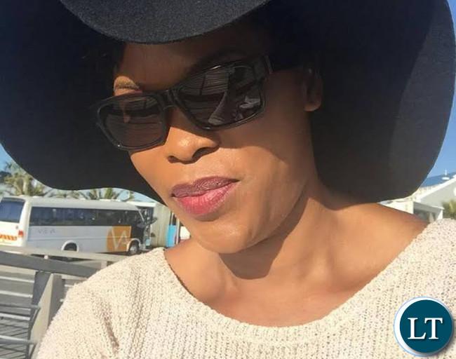 UNZA Digital journalism lecturer Ms. Brenda Bukowa