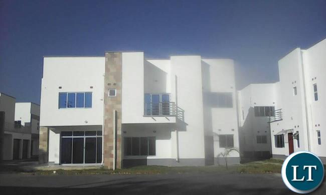 Housing Estate allegedly belongoing to President Lungu
