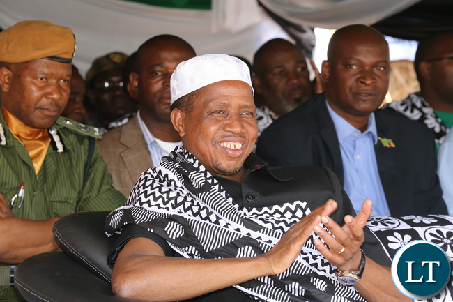 President Lungu at Mbala for the umutomolo Mambwe Lungu Tradition Ceremony