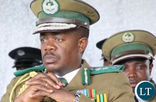 Zambia Correction Service Commissioner General Percy Chato