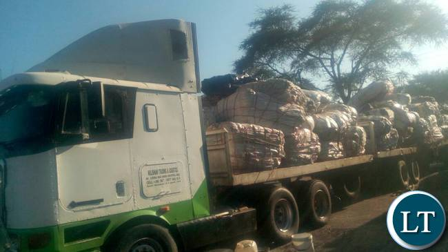 SOME Trucks loaded with fresh fish impounded at Kasungula border post.
