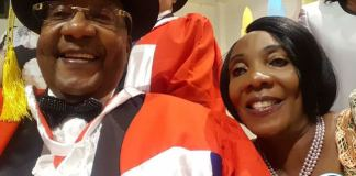 GBM in a selfie with his wife