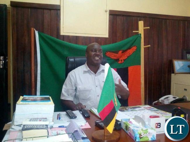 Southern Province Minister Dr Edify Hamukale