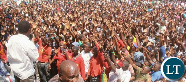 HH at a Rally rally at Mbila, Itezhi Itezhi District, Central Province.