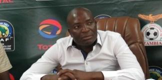 Chipolopolo coach Wedson Nyirenda