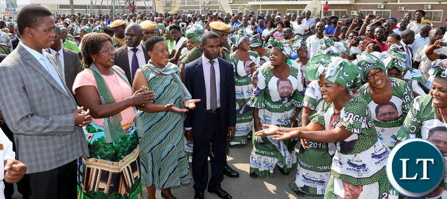 President Edgar Lungu Travel To Angola