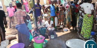 ongo DRC refugees at Kenani camp transit centre in the Nchelenge