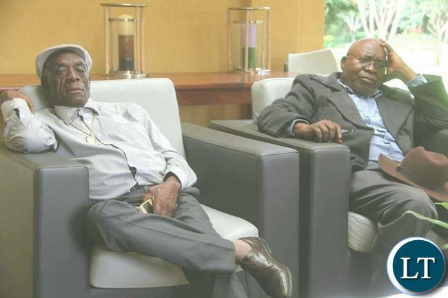 Southern Province Chiefs:  Chief  Mukuni and  Chief Hamusonde