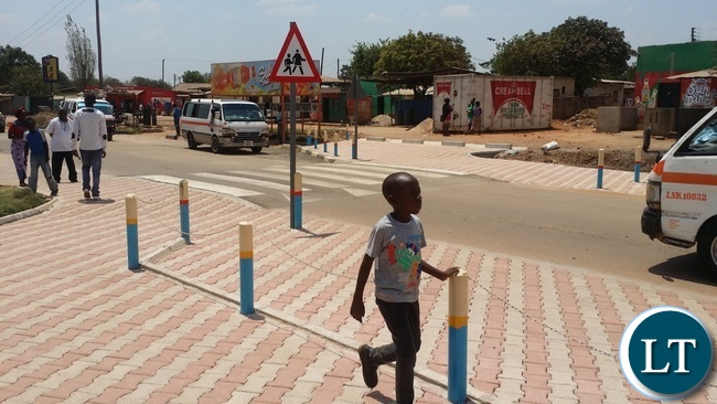 Now School Children are protected by an elevated Zebra Crossing which is a traffic calming feature in itself