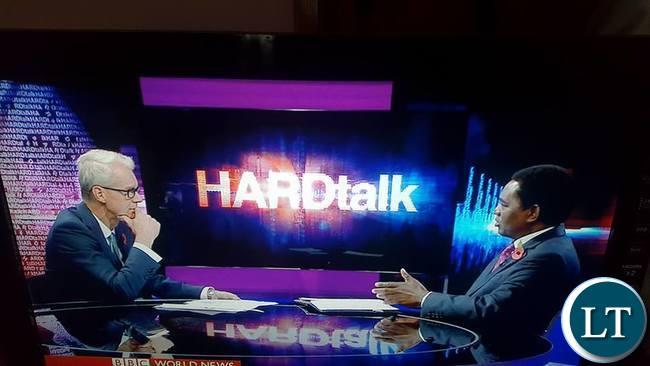 HH on Hard Talk