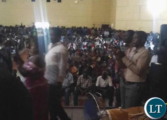 NDC members meeting in MufuliraNDC members meeting in Mufulira