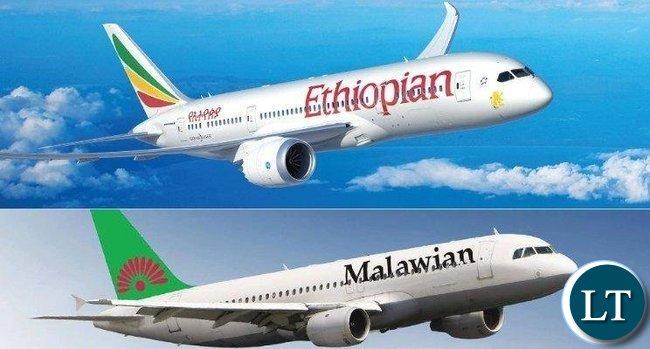 Ehiopian and Malawian Arlines Joint Venture
