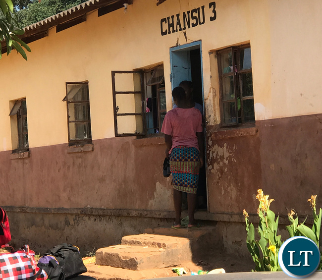 One of the dormitories at Mukamambo Girls High School declared unfit for habitation