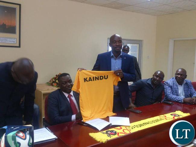 New Power Dynamos FC Coach Kelvin Kaindu unveiled