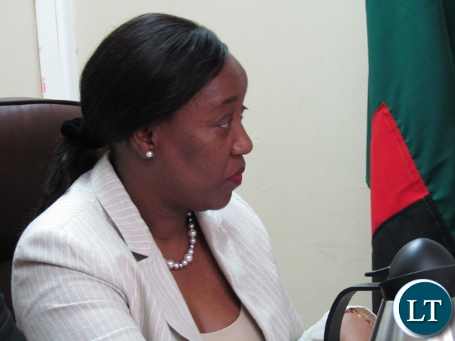 Africa Development Bank (ADB) Country Manager Mary Manneko Monyau