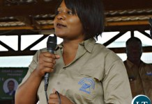 Community Development and Social Services Minister, Kampamba Chewe