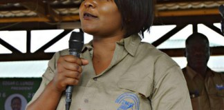 Minister of Fisheries and Livestock, Kampamba Mulenga