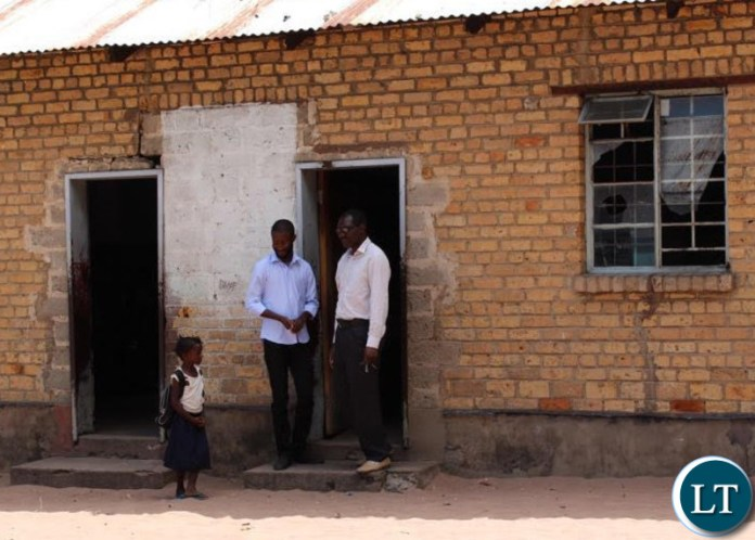 Dr Sishuwa Sishuwa speaking to a pupil at one of his former schools