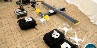 The unmanned drones to be used to aerial surveillance