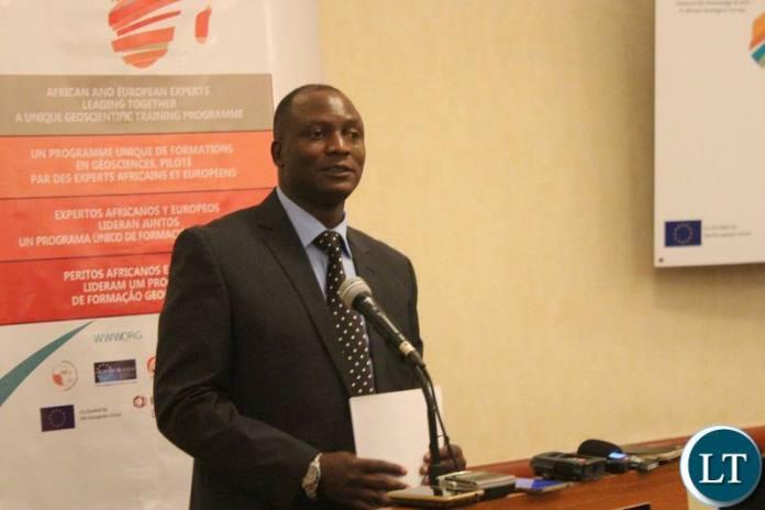 MINES Minister Richard Musukwa