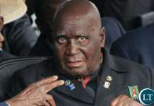 First Republican President Kenneth Kaunda