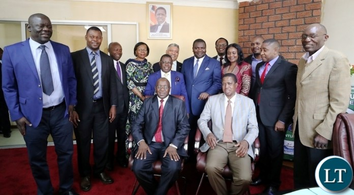President Edgar Lungu attends  dialogue process  through the Zambia Centre for Inter Party Dialogue at Pf headoffice in Lusaka  on 10th  May 218