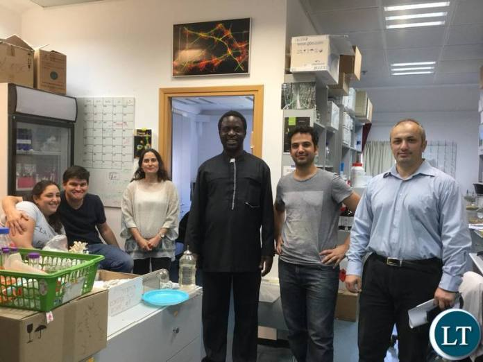 UPP leader Savior Chishimba on a conducted VIP study tour of Ariel University in Israel