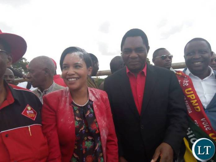 UPND Candidate Charmaine Musonda