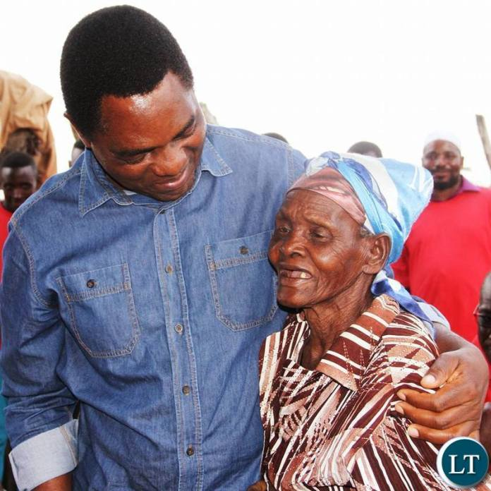 HH with an elder Chilanga resident
