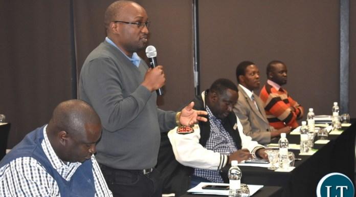PS- Chola Chabala - National Designated Authority - National Consultative Stakeholders meeting on Nat. Climate Change Fund