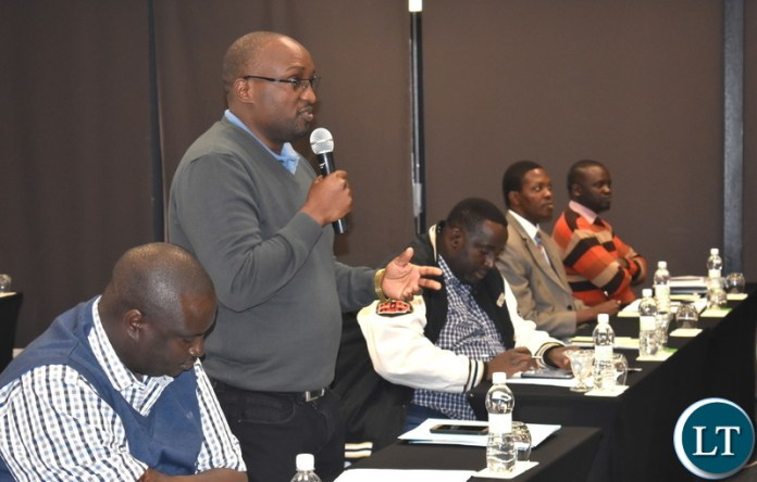 PS- Chola Chabala - National Designated Authority - National Consultative Stakeholders meeting on Nat. Climate Change Fund