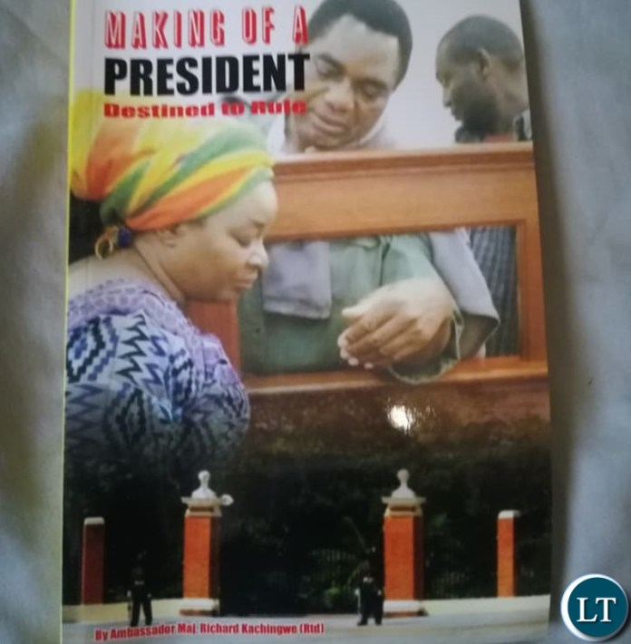 """The book titled Making of a """"President, Destined to Rule"""""""