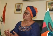 Zambian High Commissioner to India Judith Kapijimpanga