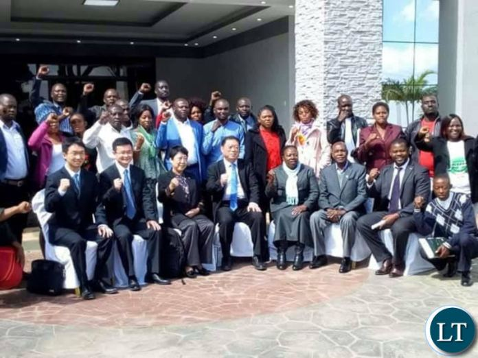 Officials from the Chinese Communist Party at the PF Secretariat